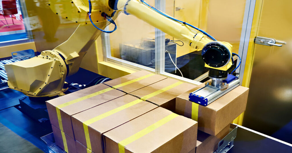 The Industrial Revolution Associated With Palletizing Robots